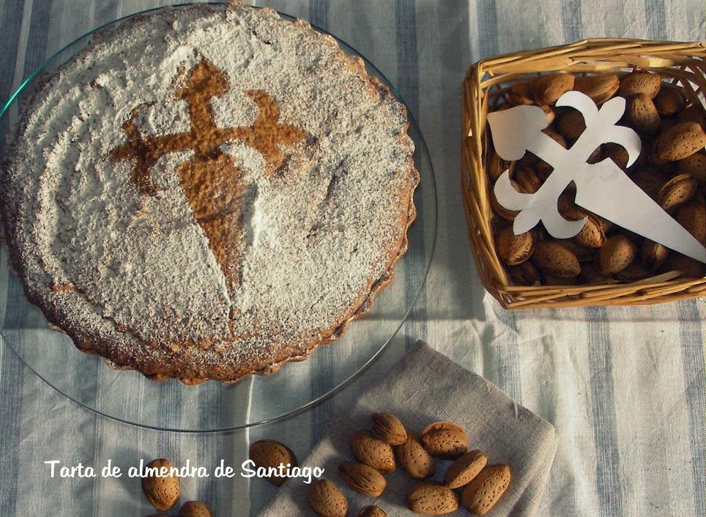 Tarta-de-almendra-de-Santiago-1